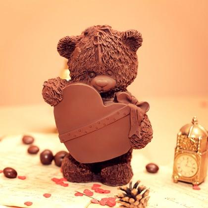 мишка с шоколадкой картинка обладательницы прекрасного